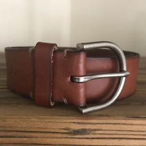 American Eagle Leather Belt Sz L